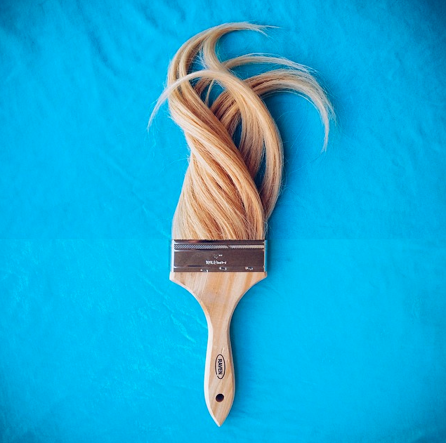 Hair stylist, artist and curator.