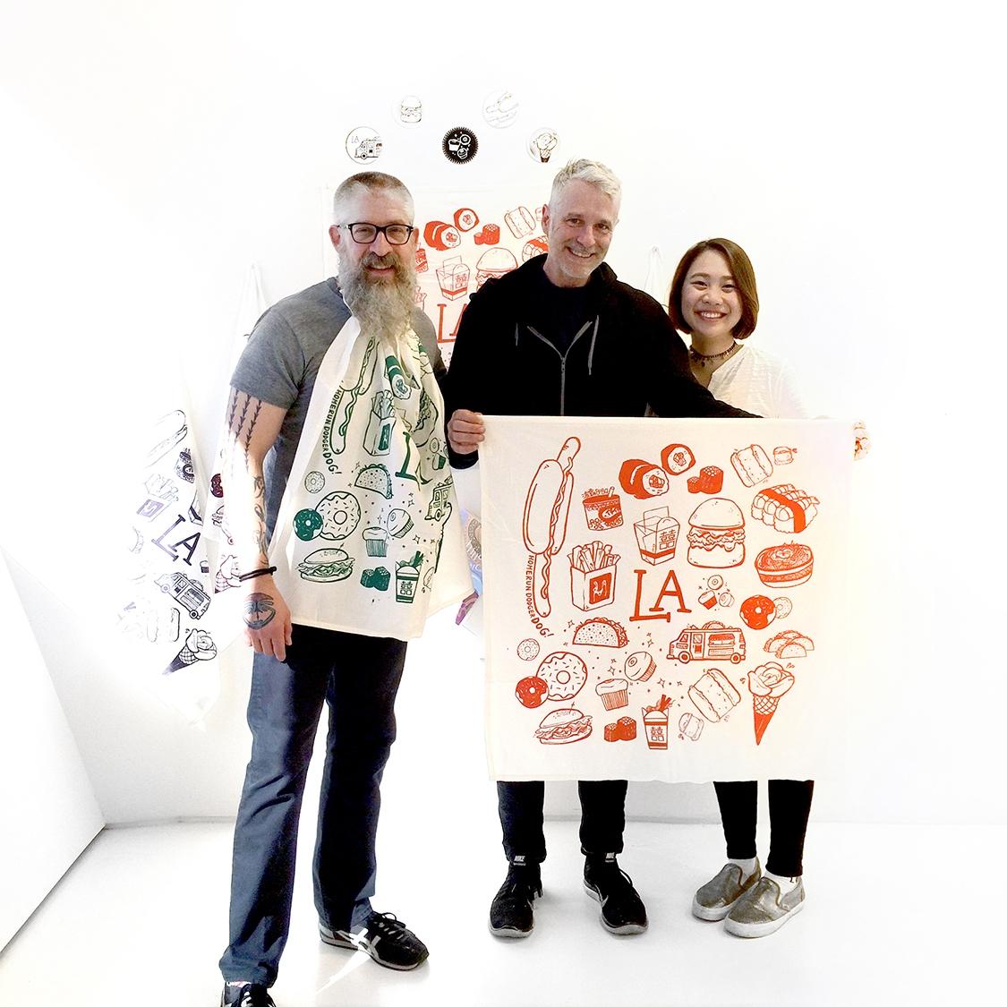 with LA | Berlin Study Abroad instructors:  Rob Clayton  +  Aaron Smith