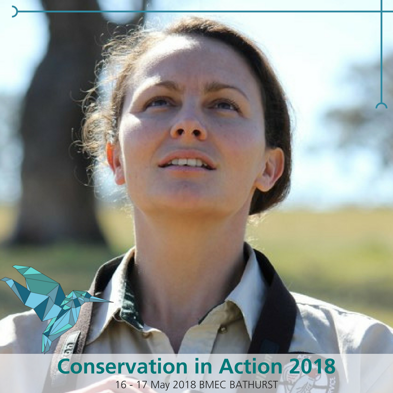 With as few as 5,000 breeding pairs left in the wild, the Superb Parrot needs all the help it can get. Fortunately, Laura Rayner is on the case studying their breeding ecology with a focus on hollows. Laura will discuss her work at the Conservation In Action Conference in Bathurst on May 16 to 17.