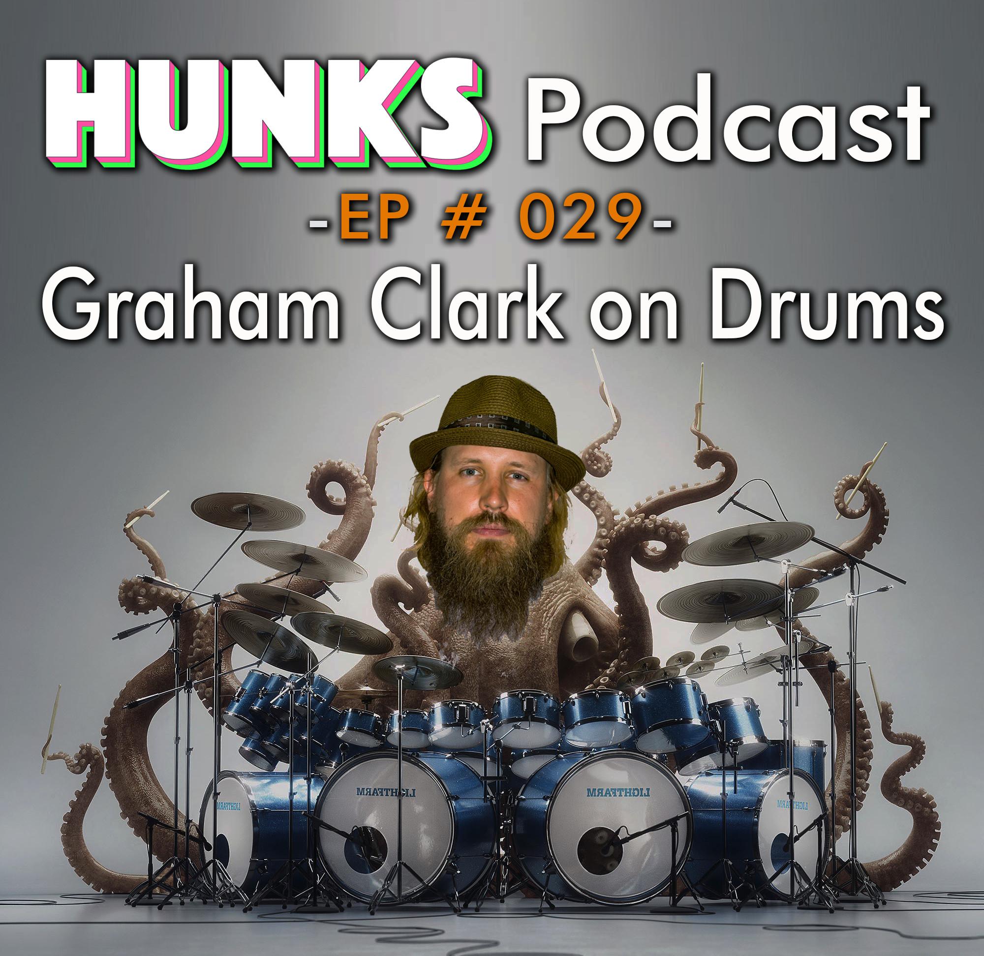 Graham Clark on Drums