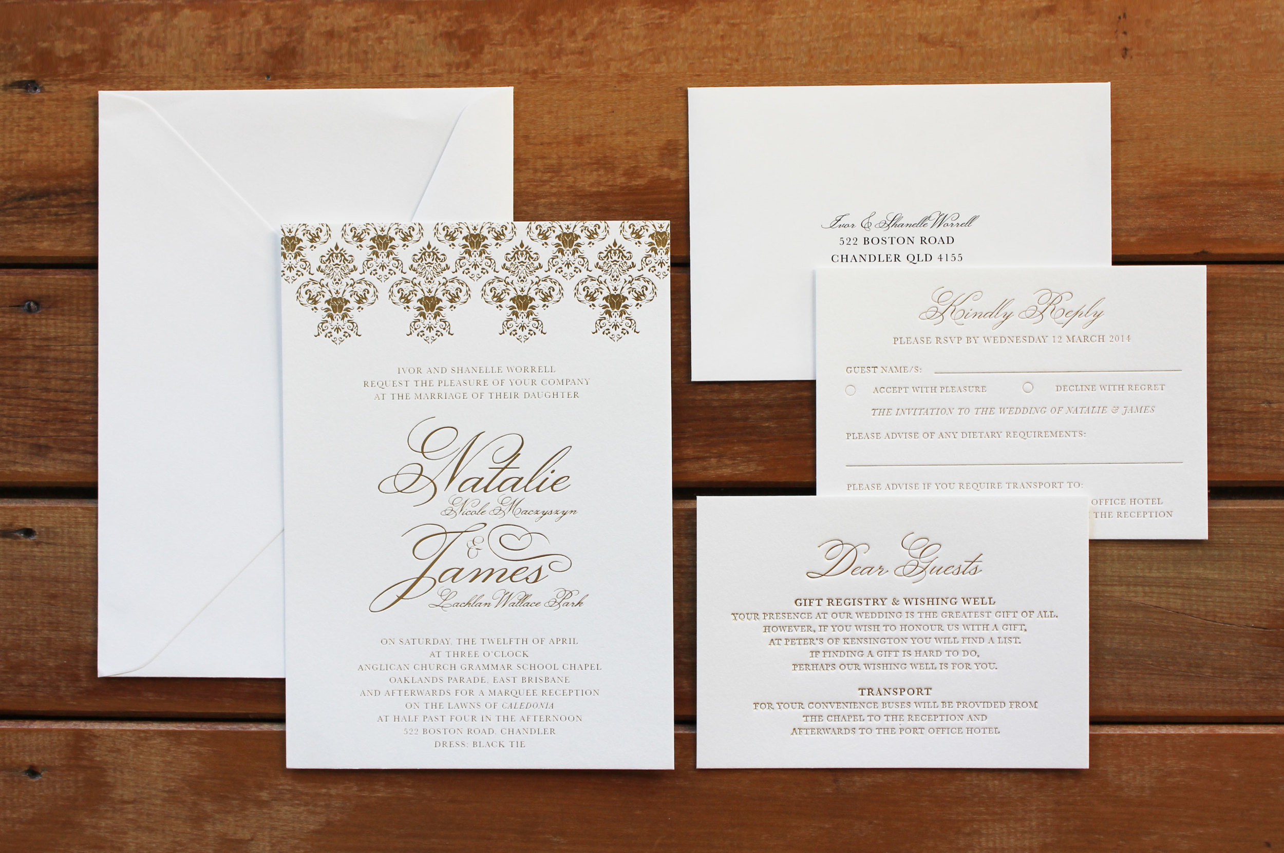 Baroque Gold {Foil}