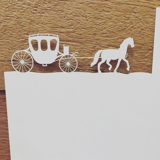 Check out this laser cut folder we designed for one of our amazing couples! The set included letterpress, laser cutting, digital printing and embossing, wow - what a challenge... #letterpress #weddinginvitations #lasercut #fairytalebride