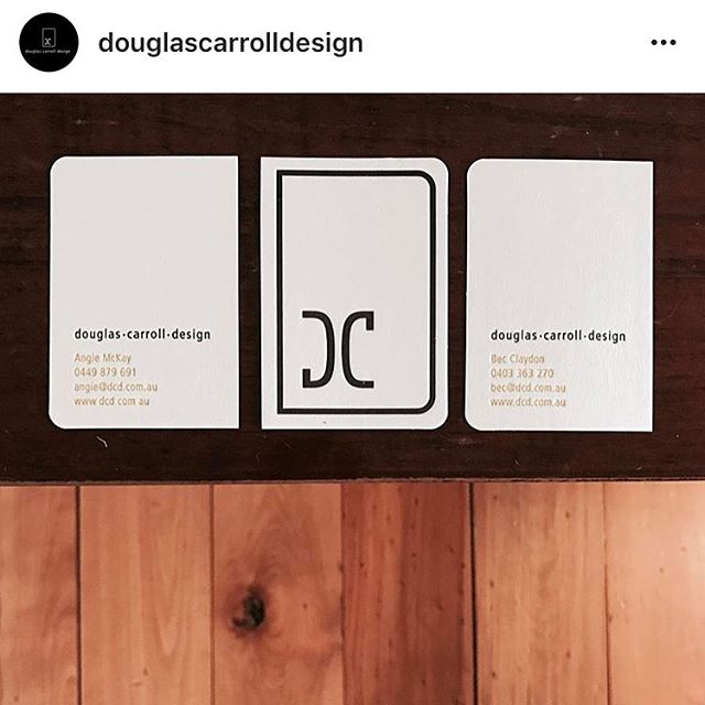 #regram We bloody love a die cut shaped business card!! These cards designed by @acgcreativeco for @douglascarrolldesign  were printed 2 colour letterpress double sided with custom die cut on @spicersaus #beermattboard #letterpress #businesscards #regram