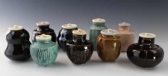 Small Lidded Jars