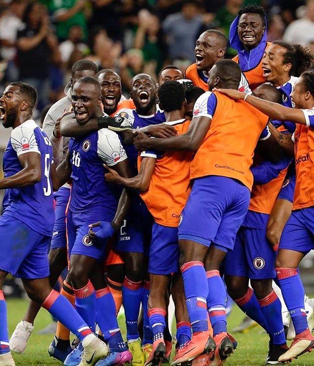 Proud of u boys, it's the beginning of a new era. 🇭🇹🇭🇹🇭🇹 #NewHaiti
