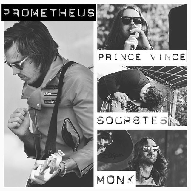 """Prometheus"" @iamarevolutionary 🔺 ""Prince Vince"" @ericscullin 🔺 ""Socr8tes"" @clefofd 🔺 ""Monk"" @christianhogan ▫️▫️▫️▫️▫️▫️▫️▫️▫️▫️▫️▫️▫️▫️▫️▫️▫️▫️ Collectively, we are known as ""FAULKNER"" ▫️▫️▫️▫️▫️▫️▫️▫️▫️▫️▫️▫️▫️▫️▫️▫️▫️▫️ Photographer 📷 Sarah Hess"