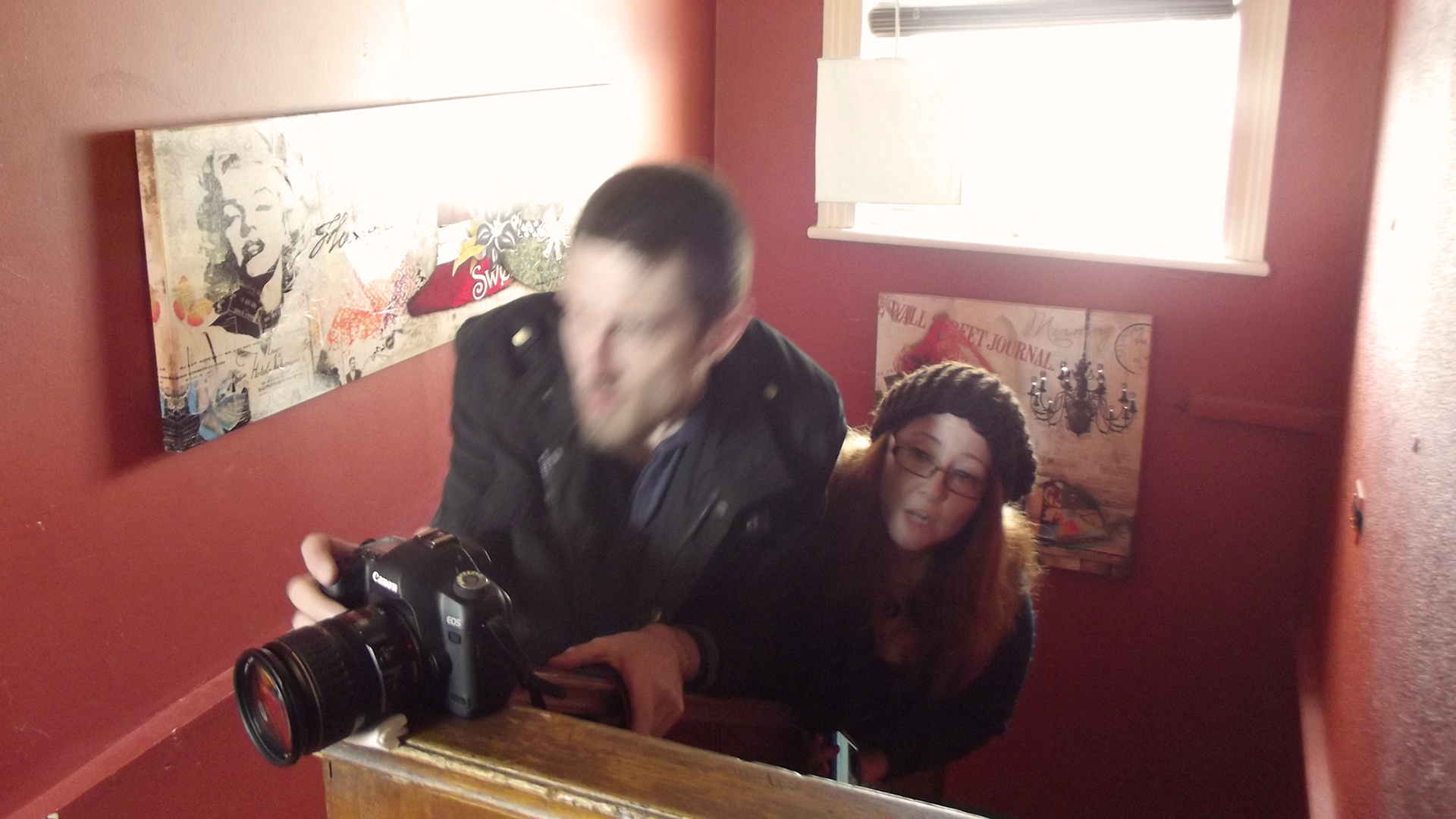 Shakespeare Republic - Director of Photography James Dene and Director Sally McLean