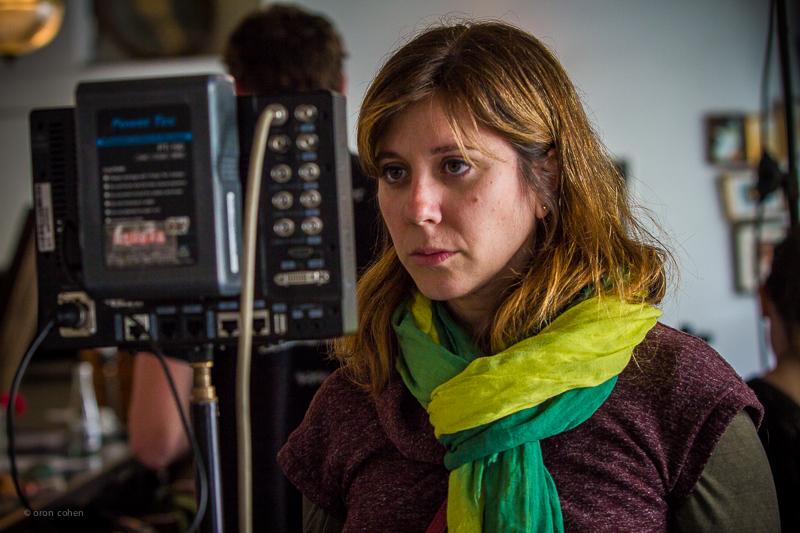 Director Leeron Revah. Photo credit: Oron Cohen.