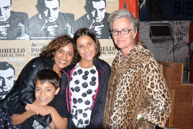 Letterbox co-writer and producer Yasmin Khan-Cheema and co-writer and director Annabel Allison.