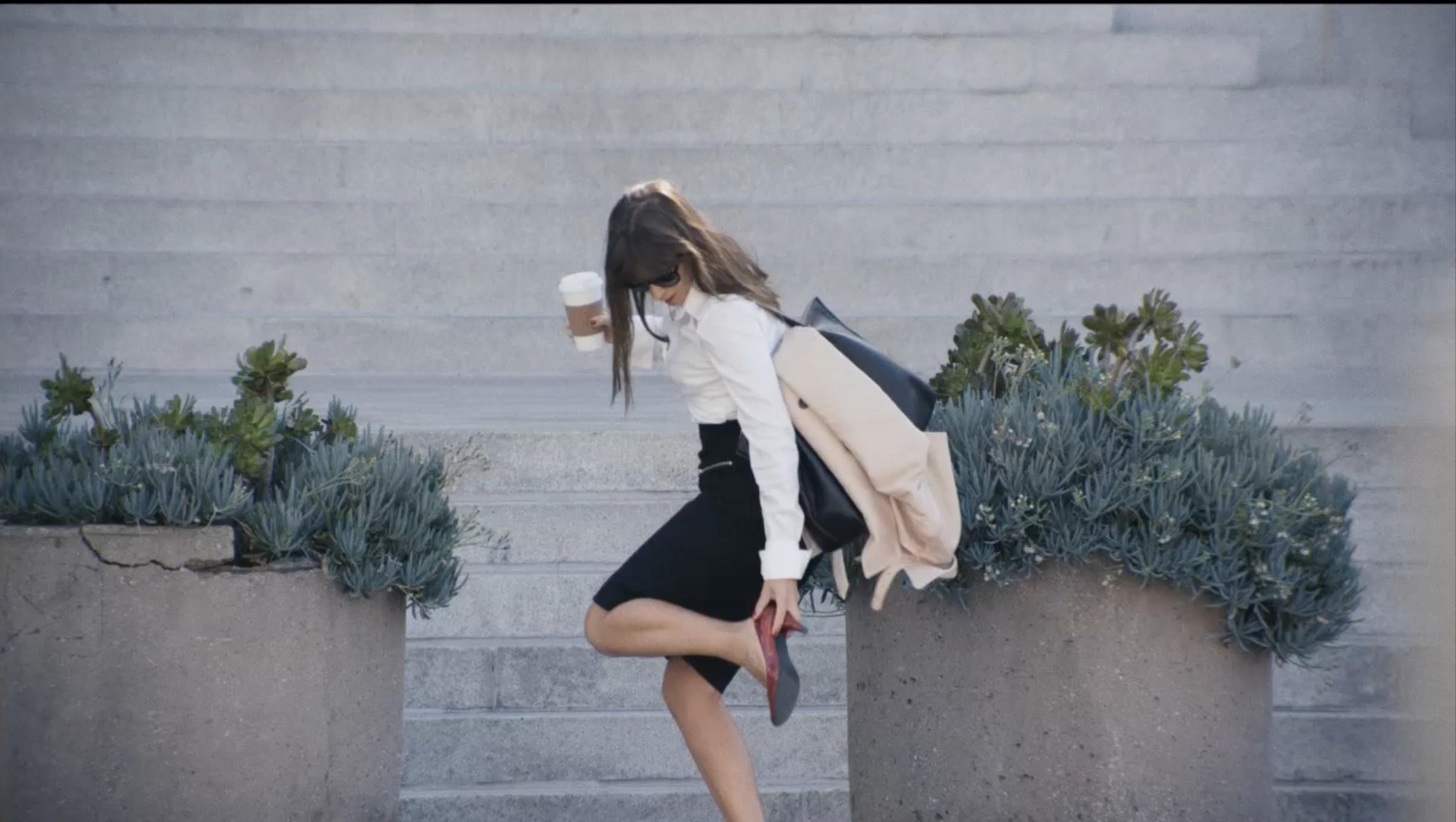 Woman Outside - Paula Roman