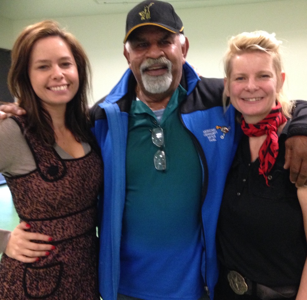 Urban Dreaming - Sandy Cowley (Greenwood),Uncle Pat Farrant and Director Rochelle Humphrey,