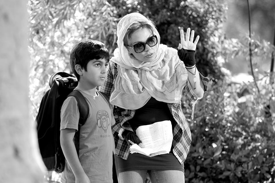 Farewell My Bird director/producer Ameneh Moghaddam.