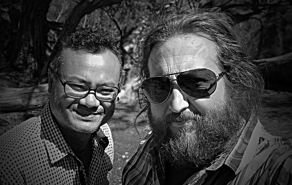 KROM: Songs from the Noir & The Mekong Heart - Bunhom Chhorm and Tim Purdie.