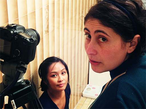 Who Knew - Producer Dulce Aguilar and Director Angela Pezzano.