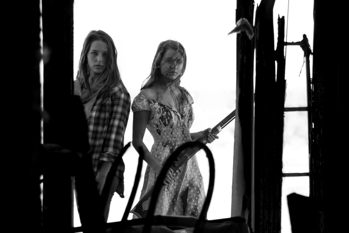 The Tribe - Jessica Rothe plays Jenny, Anne Winters plays Sara. Stills Richie Banks.