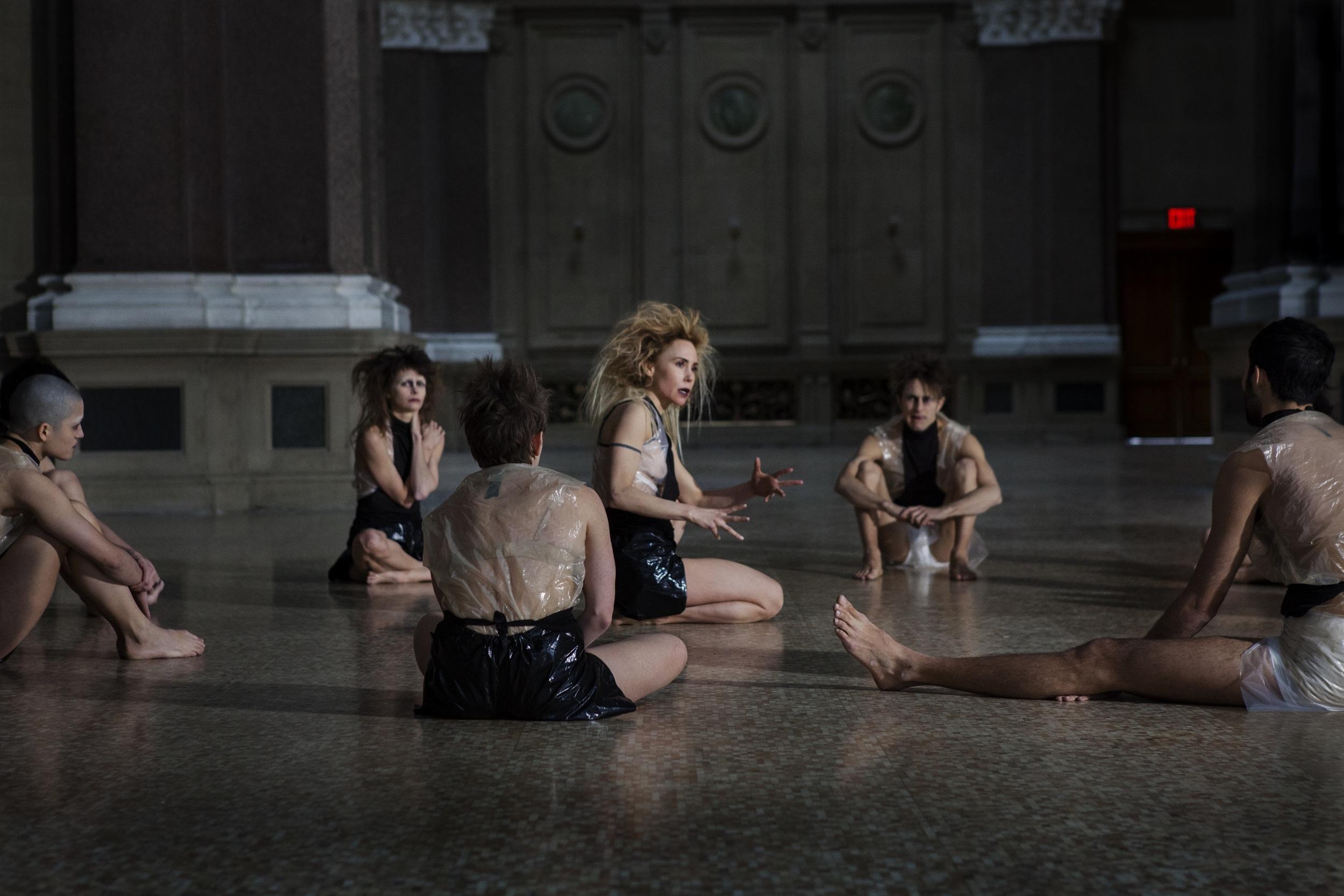 Swallowed - Lily Baldwin directing dancers
