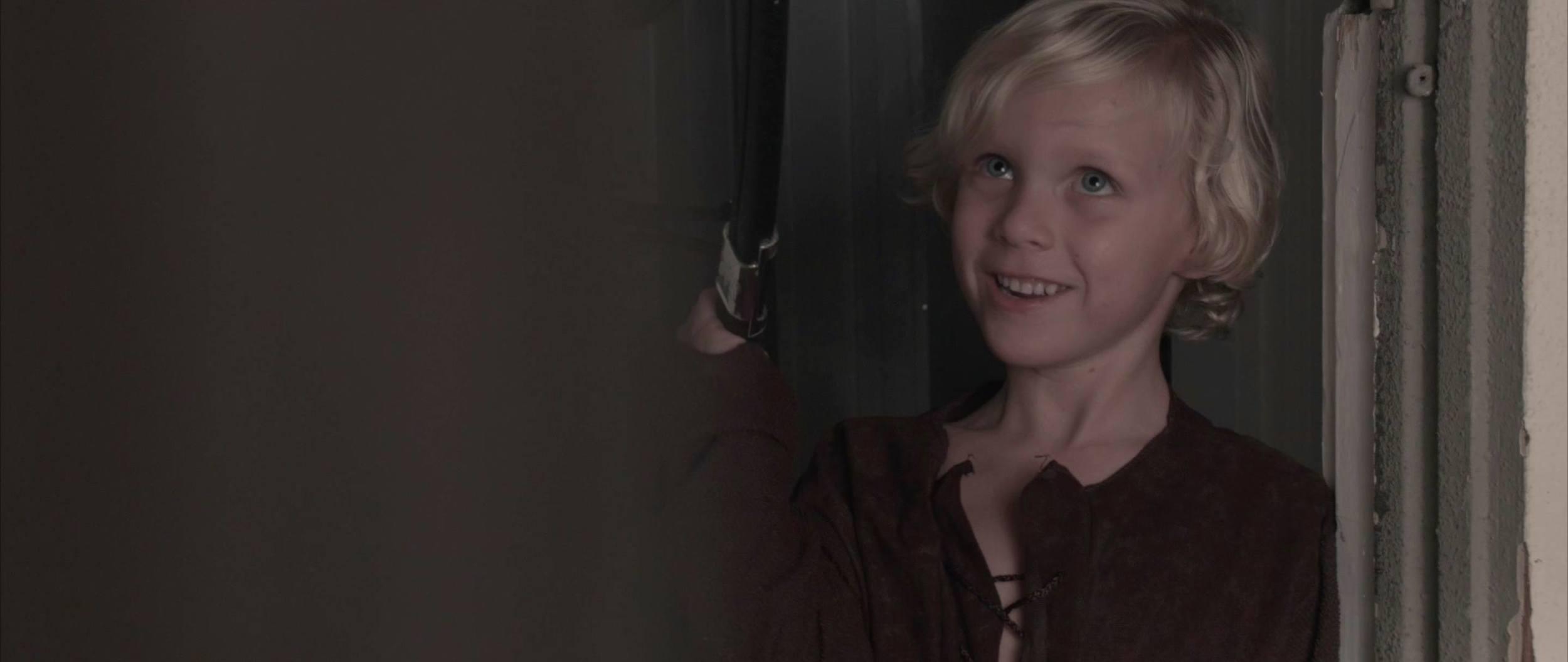 "Lucas Royalty as ""Gus"" in CHARMING."