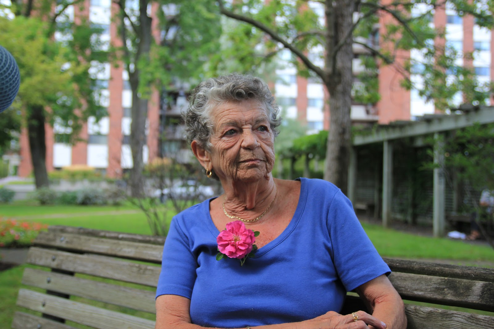 No Kids For Me, Thanks - Claudette Valiquette (71) never wanted children. She died during the shooting of No Kids for Me, Please which is dedicated to her.