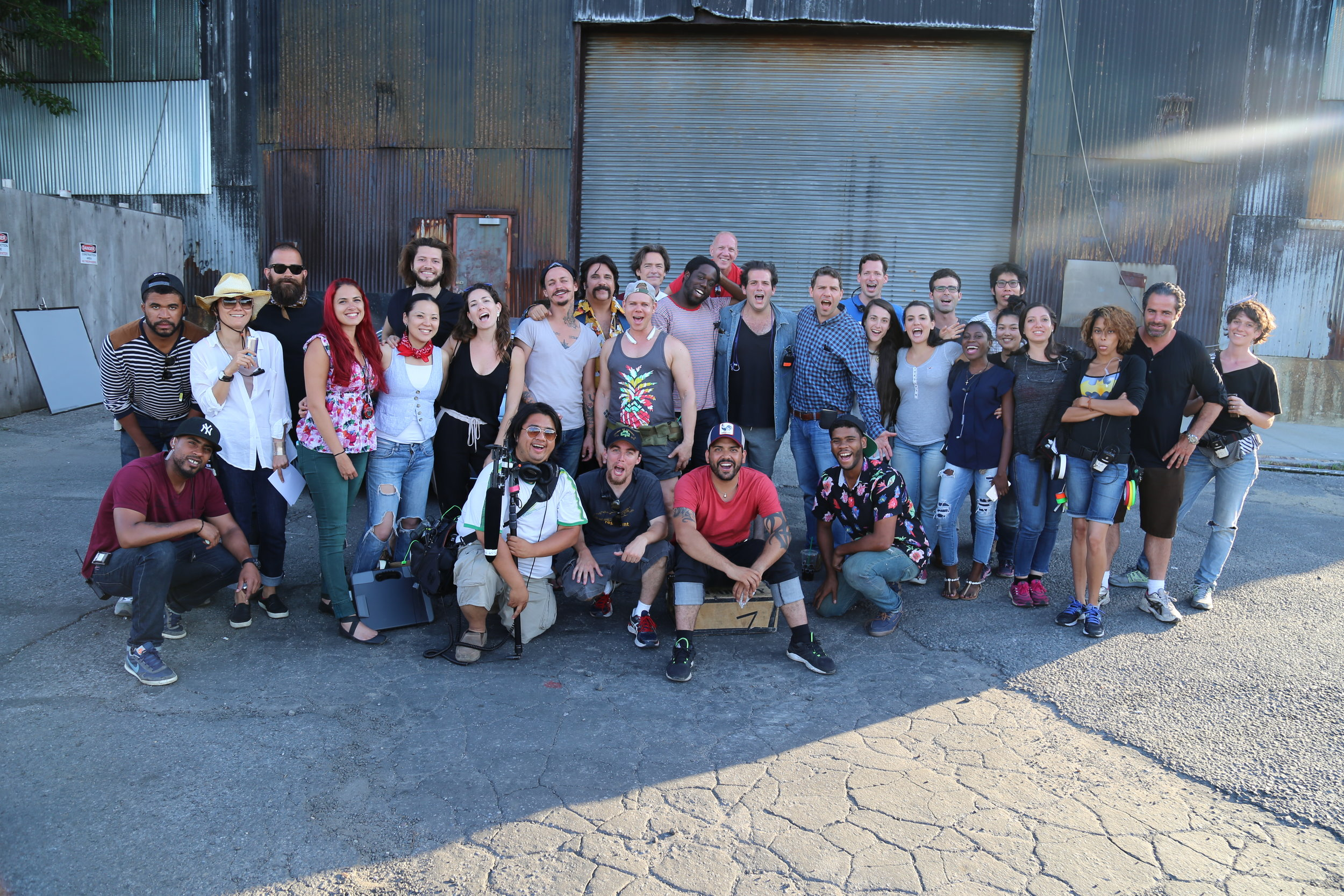 Oiled Up - Cast and Crew