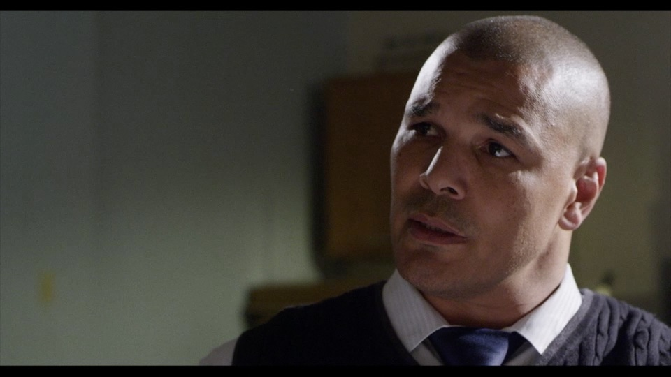 The Breakout: A Rock Opera's imposing high school principal Mr. Rizzo (played by Banshee star Geno Segers).