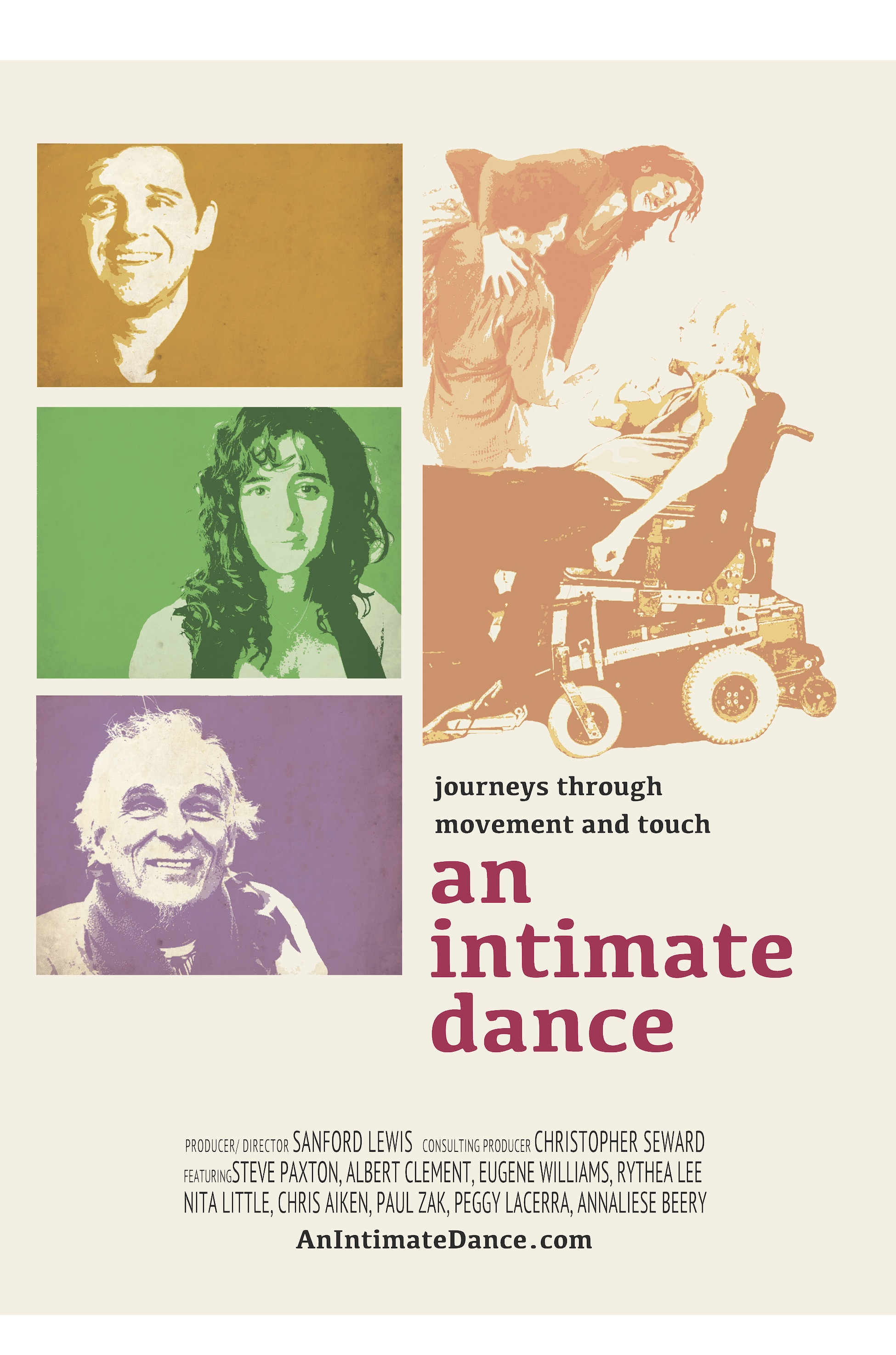 An intimate dance: journeys through movement and touch