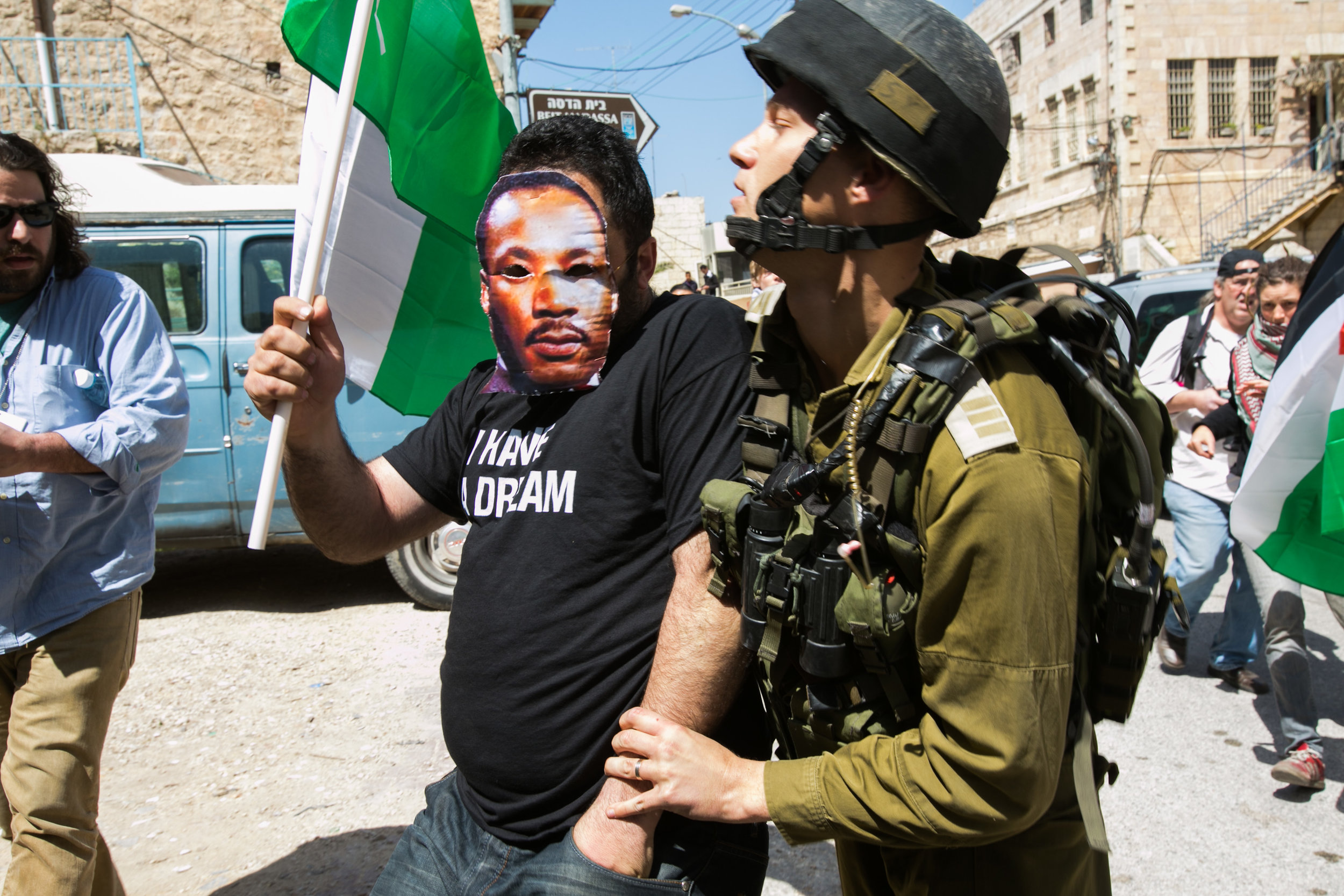 Jews Step Forward - Martin Luther King in Palestine.
