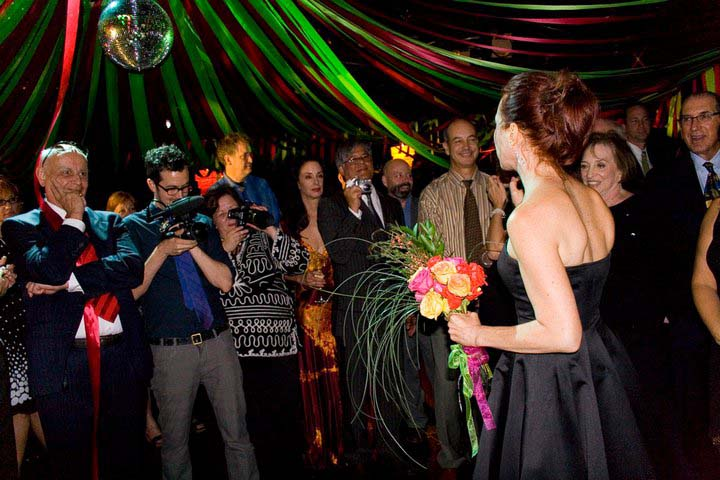 Cold Feet - Spencer Schilly (blue tie) filming Lisa at the wedding