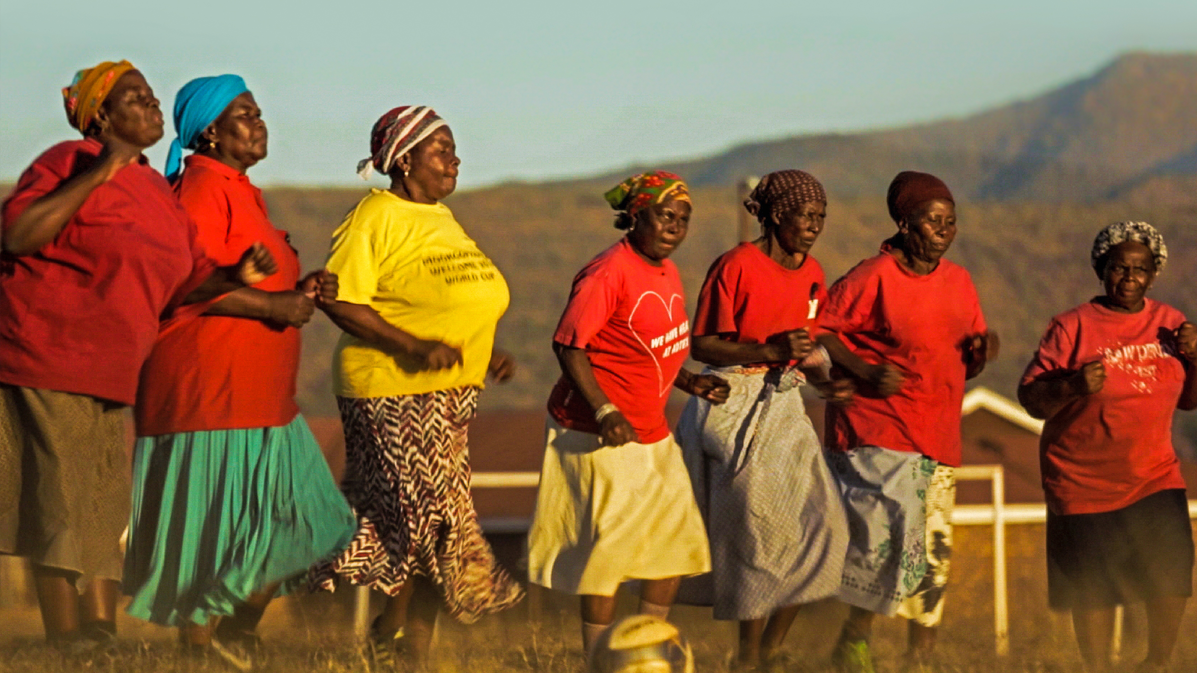 Alive & Kicking: The Soccer Grannies of South Africa