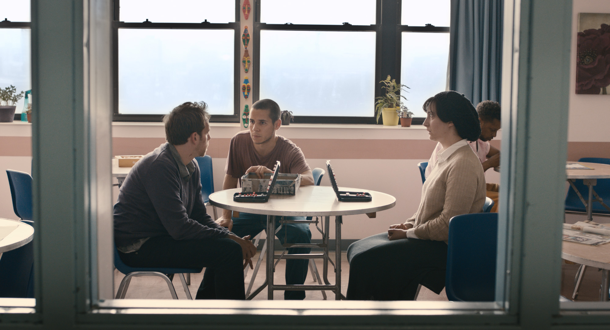 Adherence - Daniel interrupts a game of Battleship between Charlie and Maddy in the ward's dayroom.