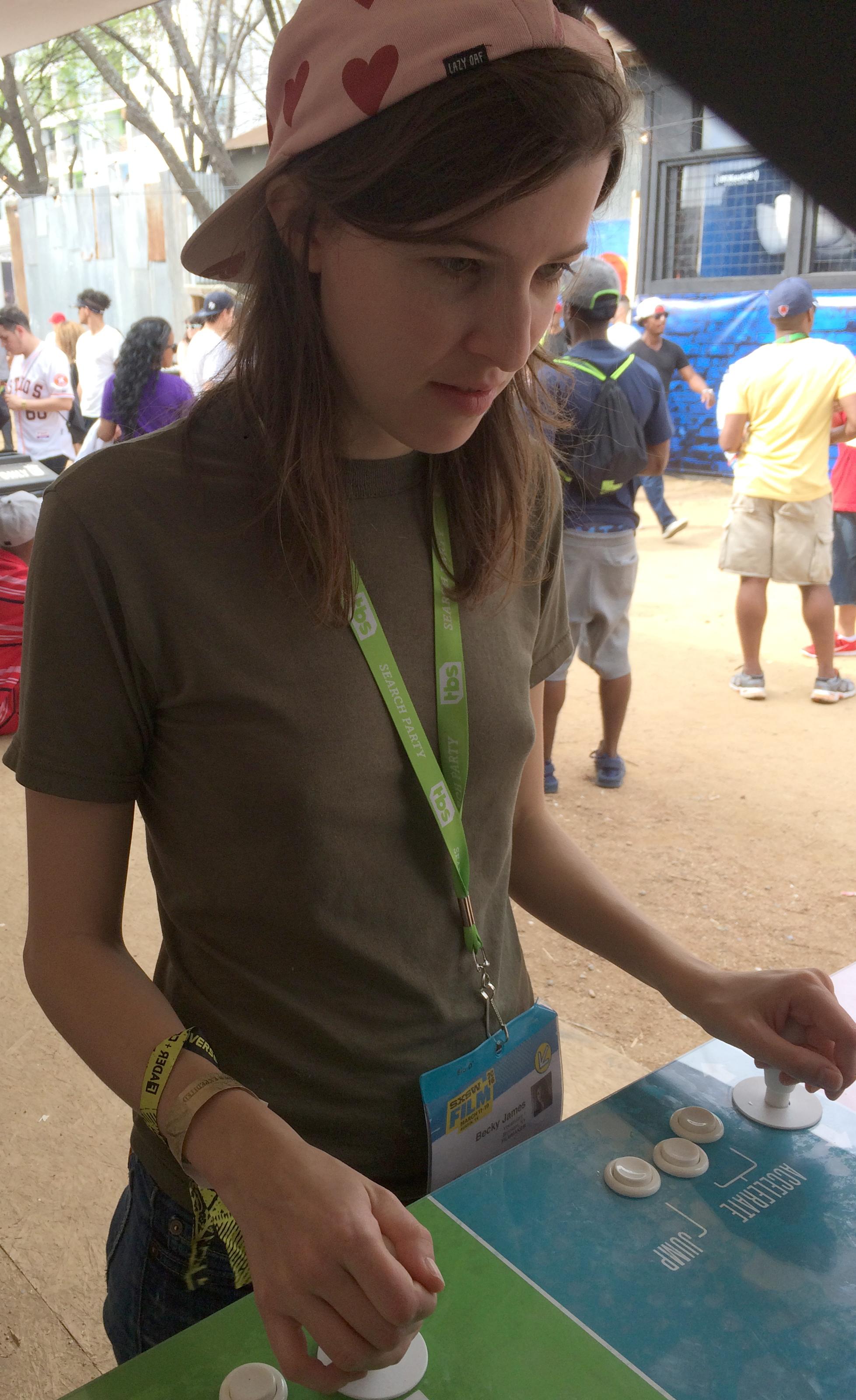 Worm Writer/Director Becky James