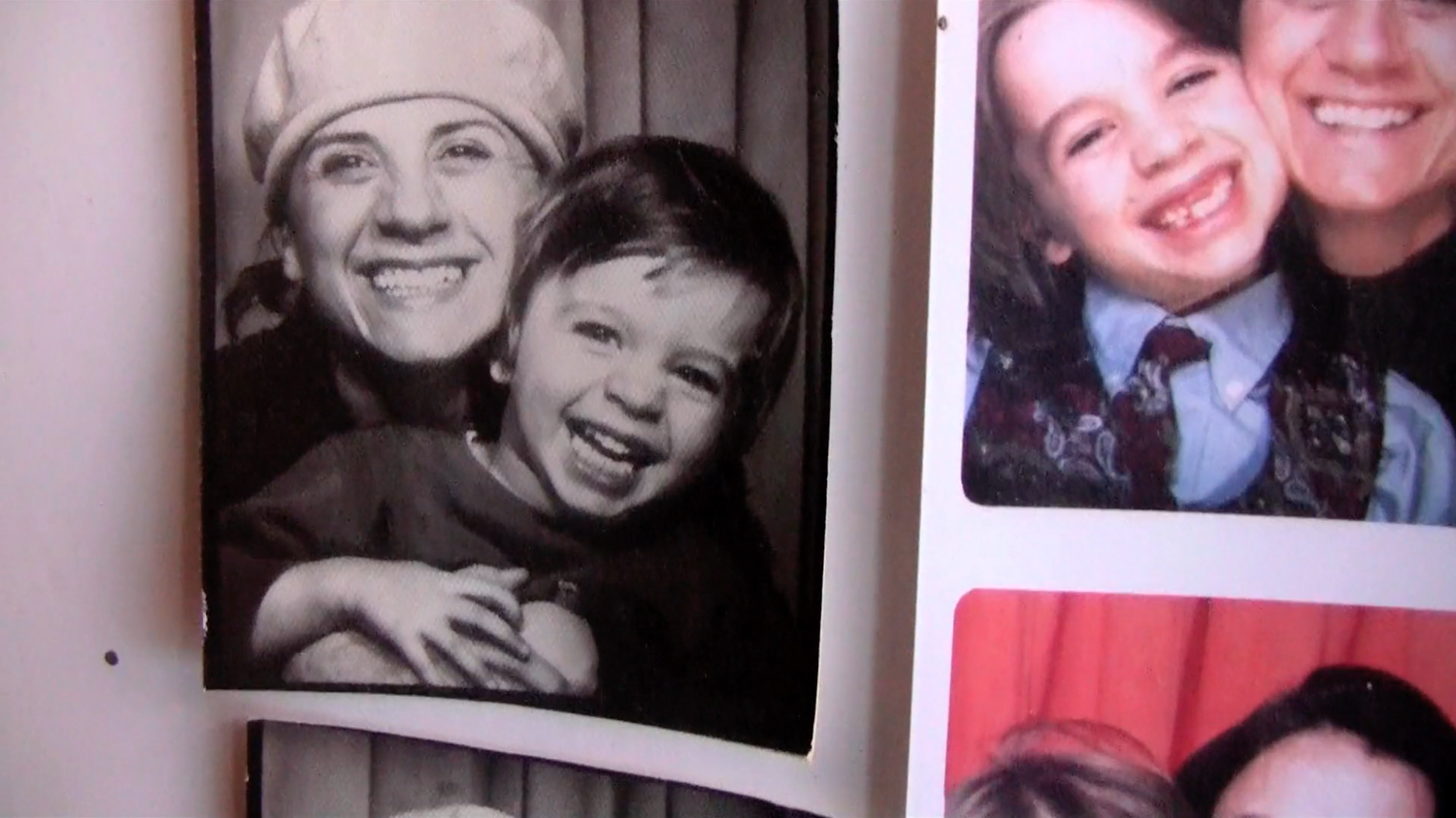 Il était 6 fois (Once Upon 6 Times) - Director Liane Simard with her son.