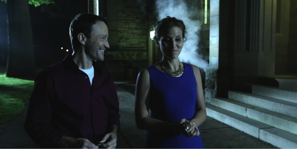 Looking for the Jackalope - actors Michael Leydon Campbell and Meissa Hampton