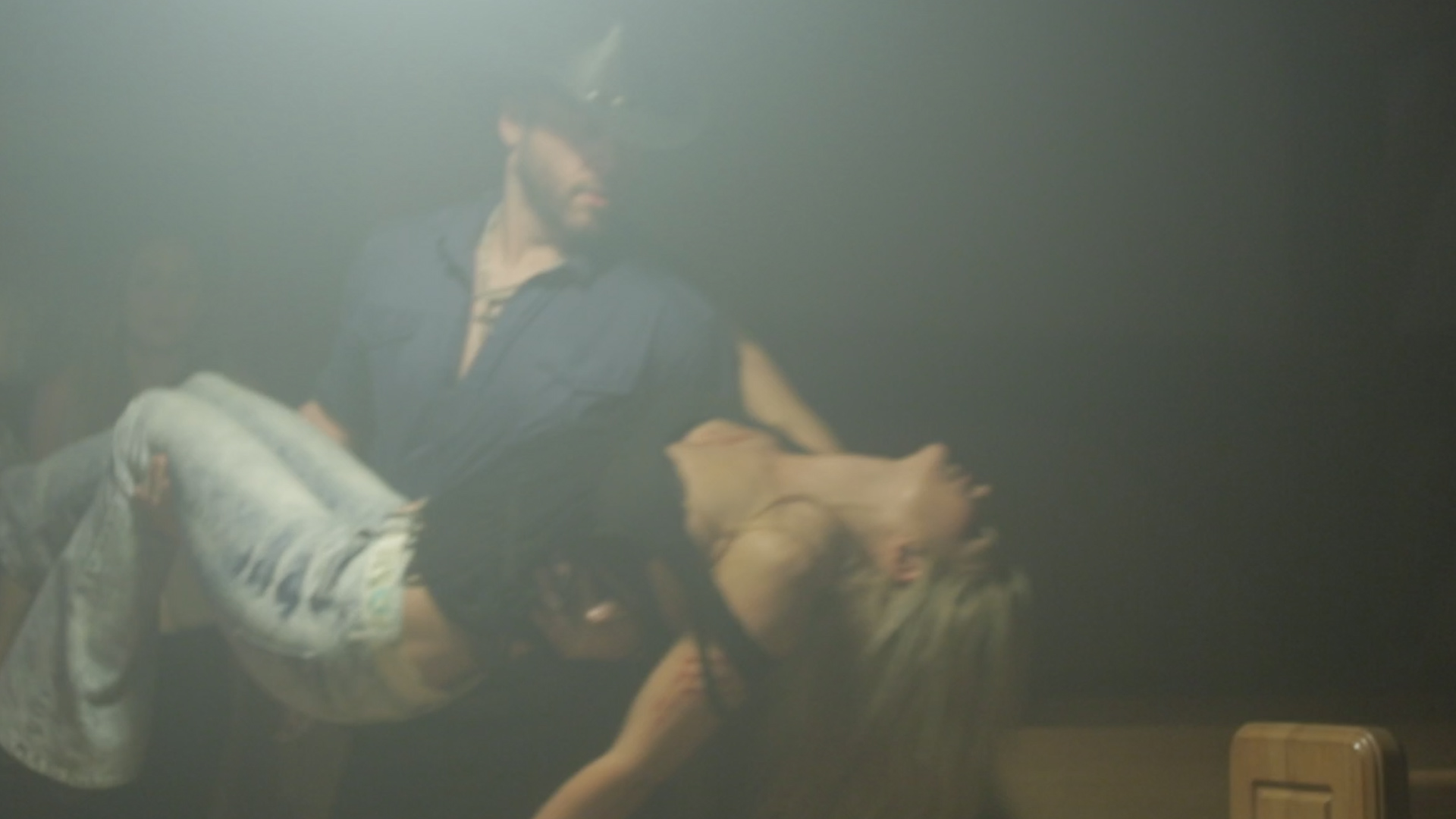 Dark Roads 79 - the climactic scene in the film: Grace is hurt!