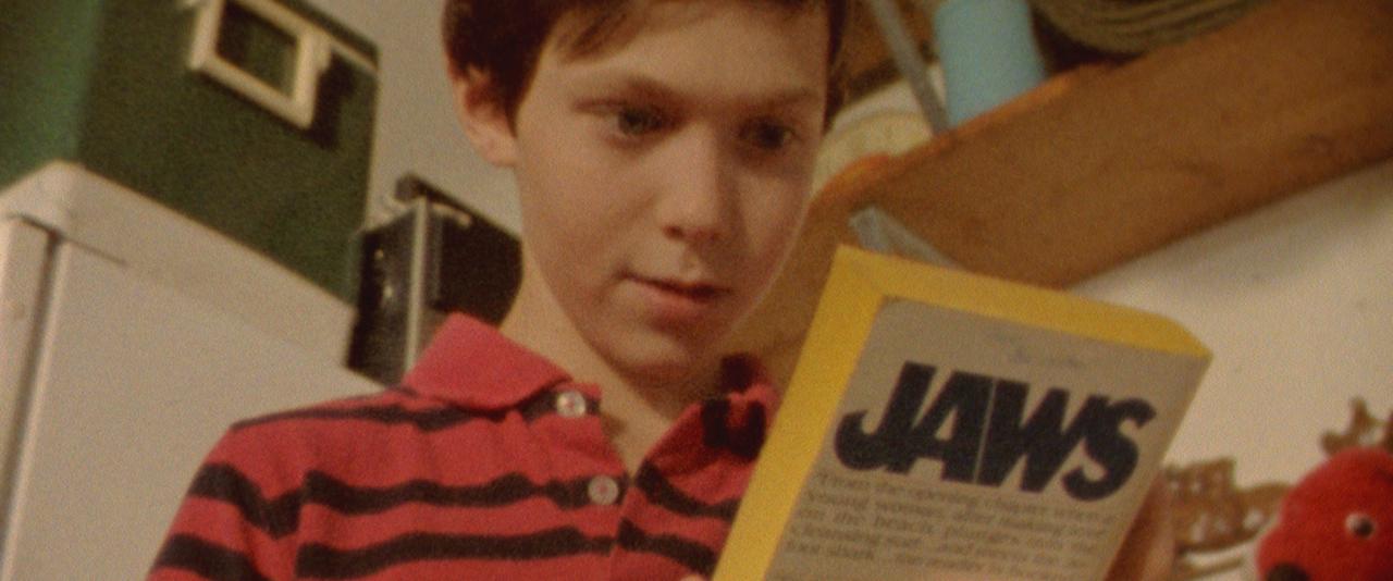 A Doll's Eyes - Gabriel Bennett plays Jonathan Wysocki as a child in a Super 8mm reenactment.