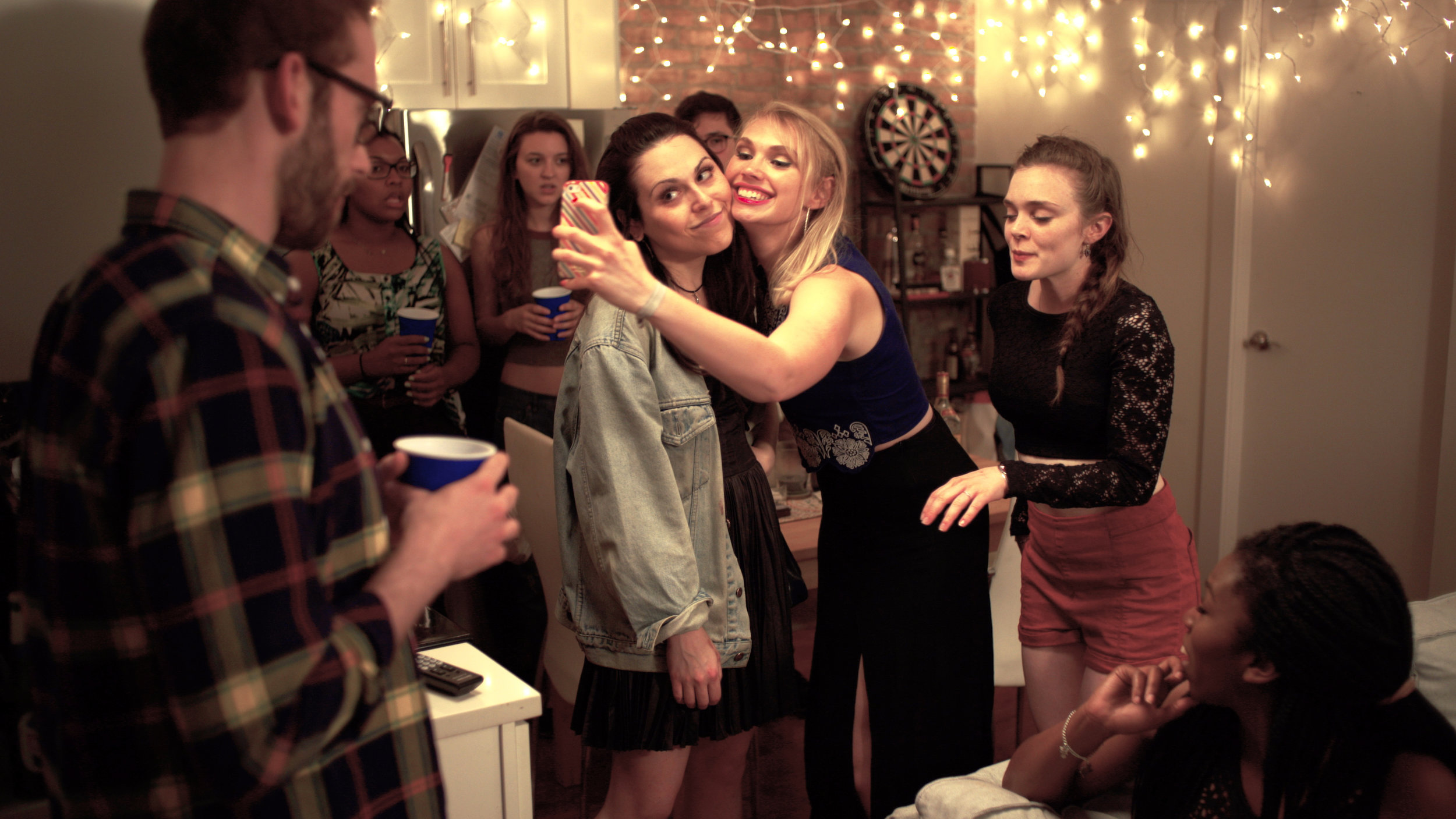 Kat meets a fan at a party, confirming her worst fears about interacting with other people.