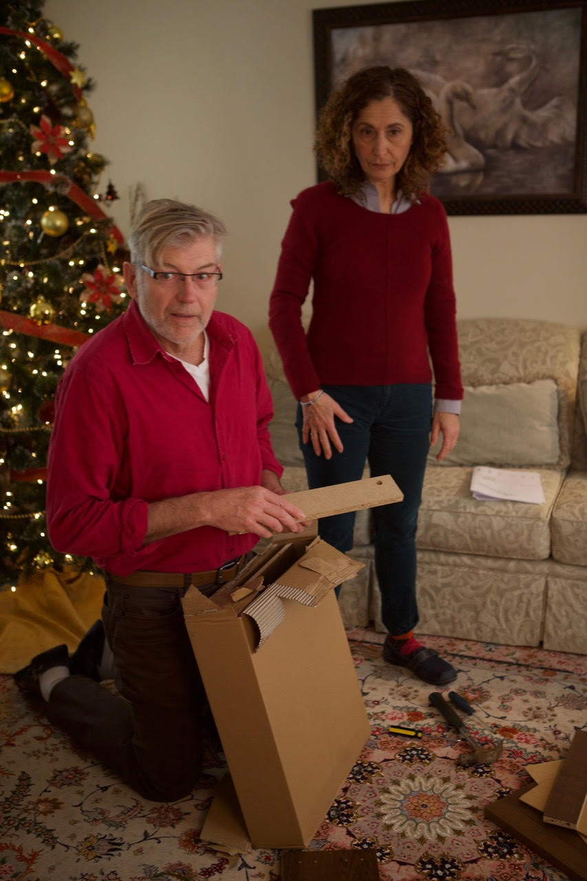 Real life couple Greg and Toni Ellwand aren't very impressed with the quality of the furniture they just purchased.