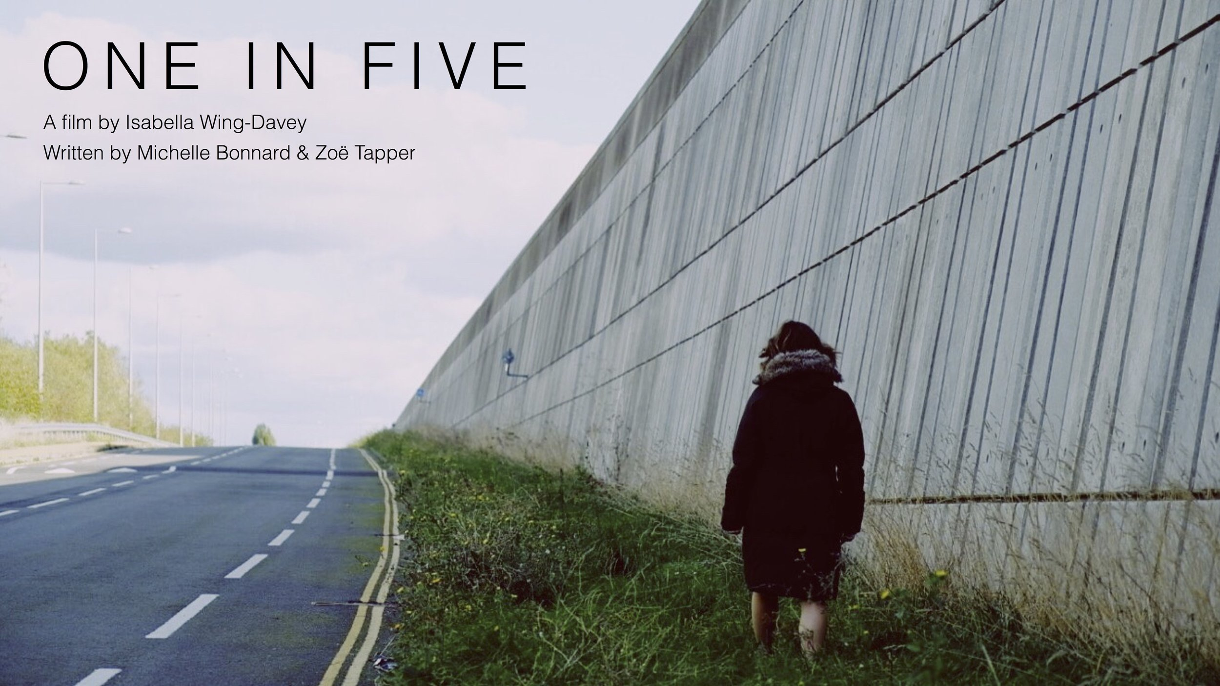 "Zoë Tapper in ""One in Five"" test shoot. Photo credit: Jon Holloway"