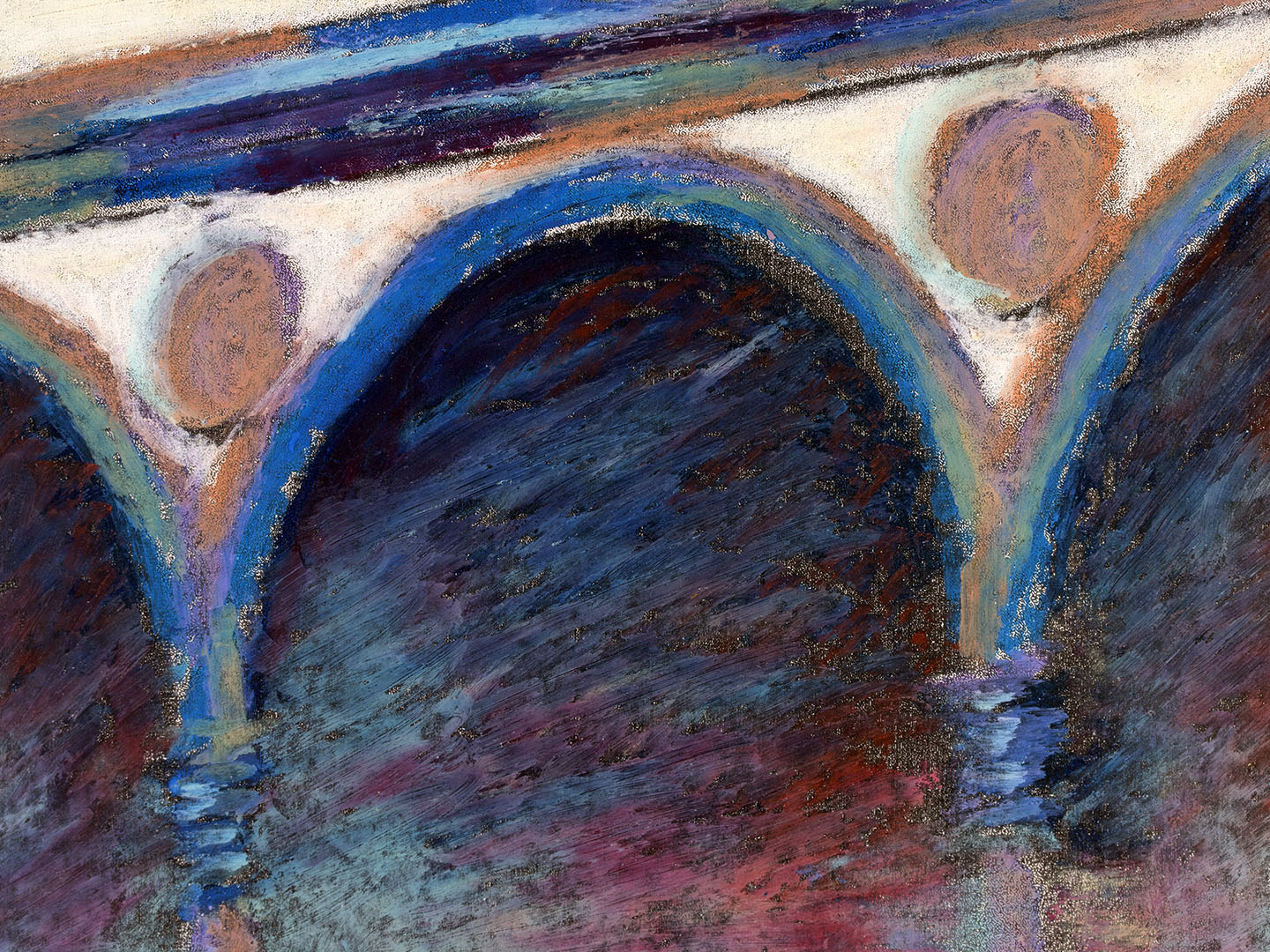 Arches in a Florentin plaza