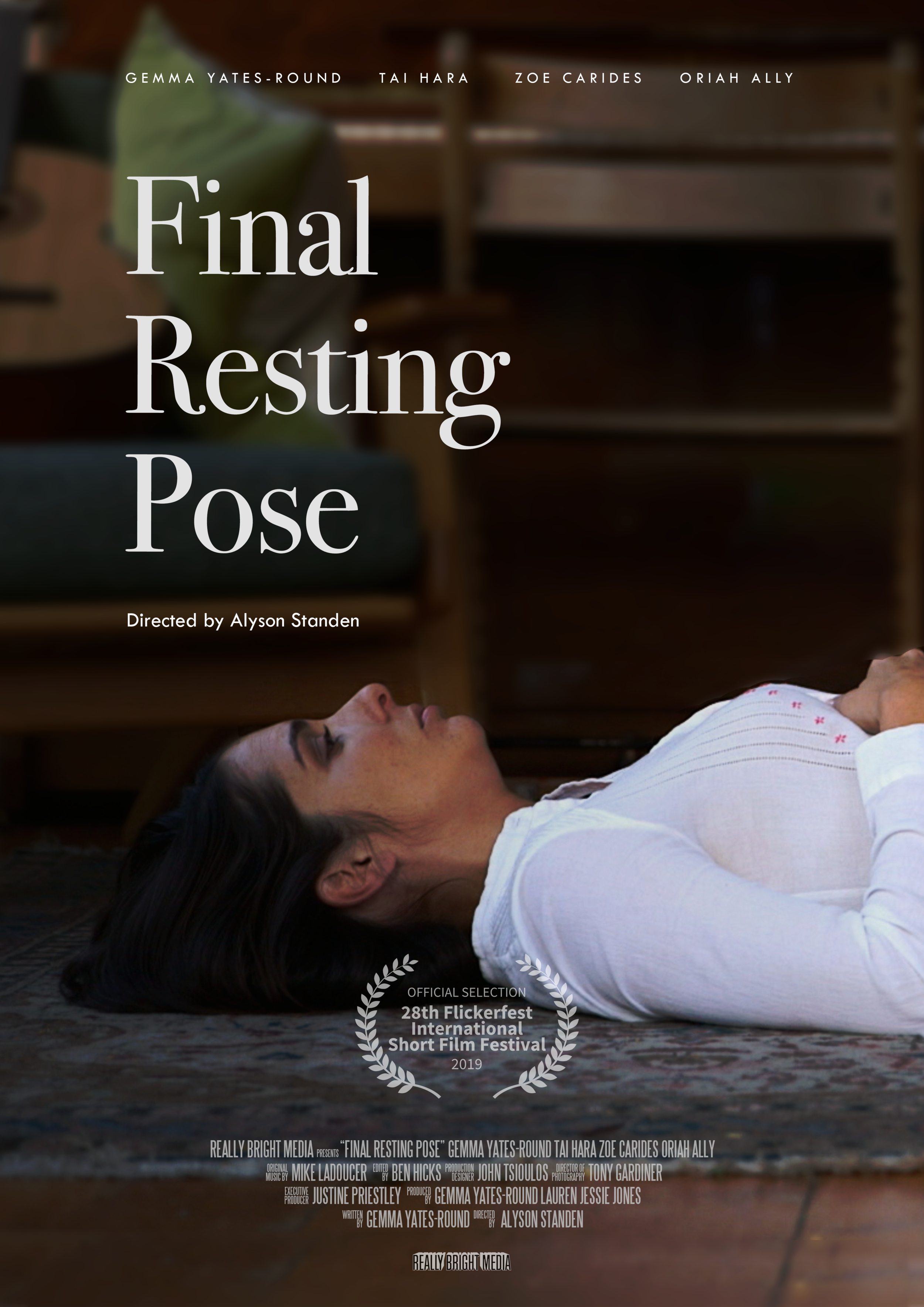 Final Resting Pose poster
