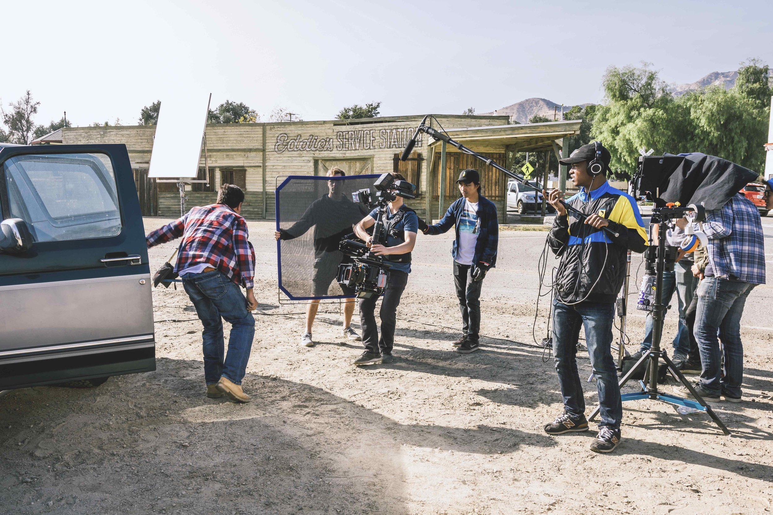 """""""Fathom"""" filming on location in Piru, CA"""