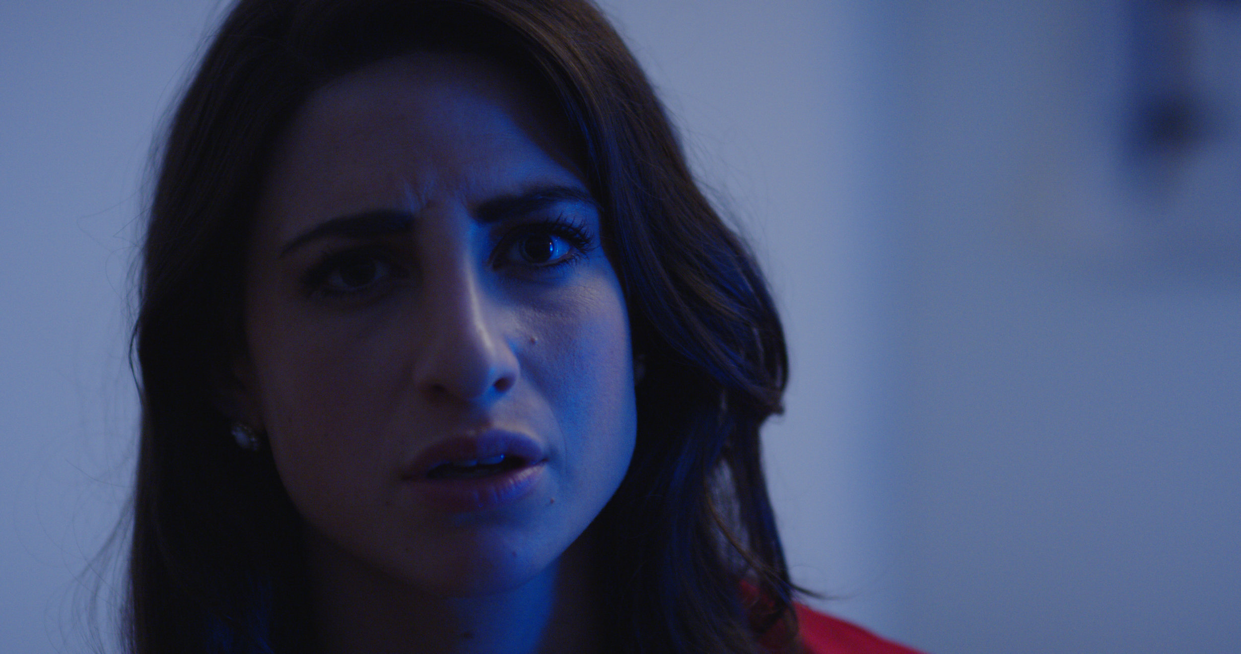 Leah Lamarr as Veronica in White Guys Solve Sexism. Dir. Christopher Guerrero. Shot by Alex Parker.