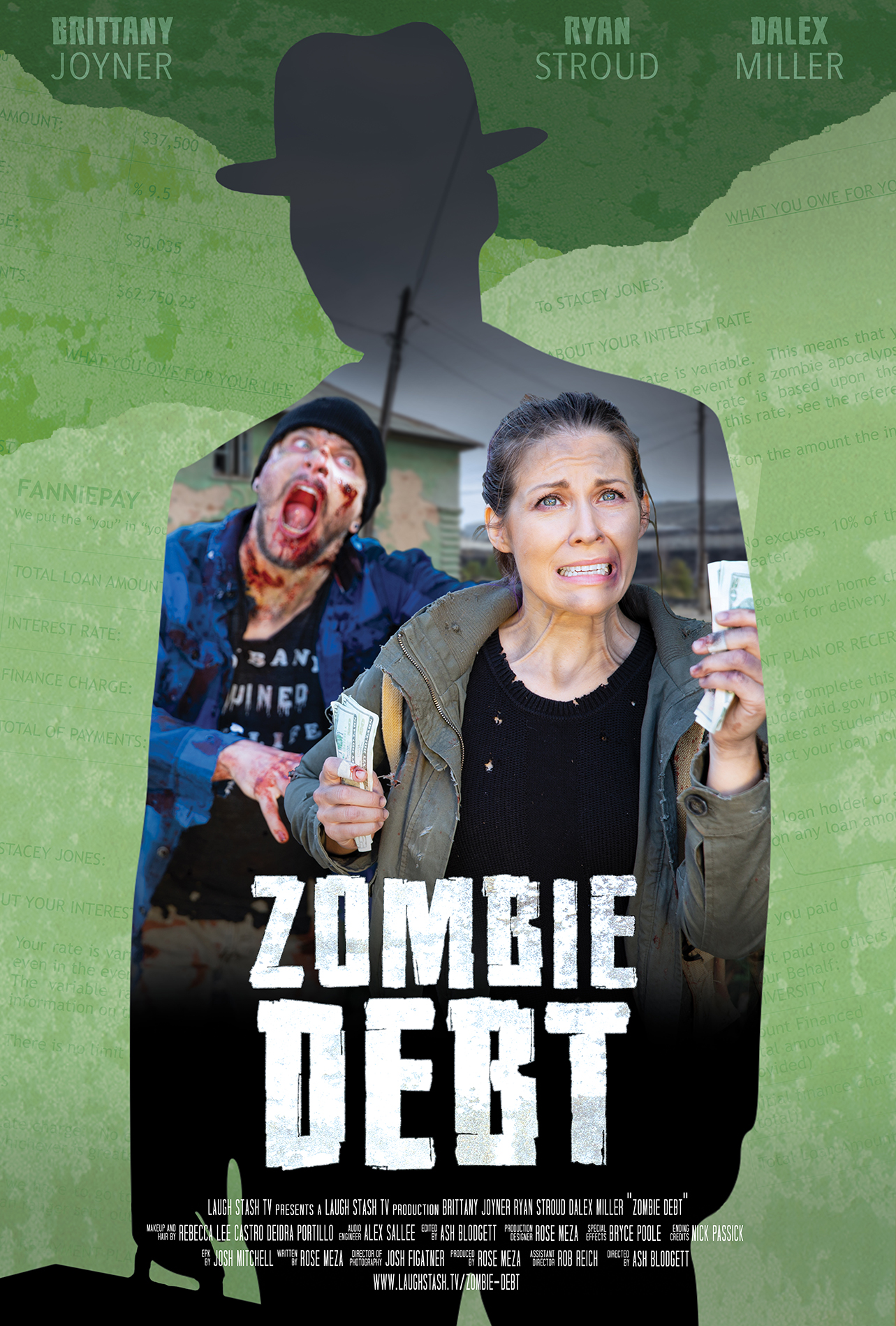 Zombie Debt poster