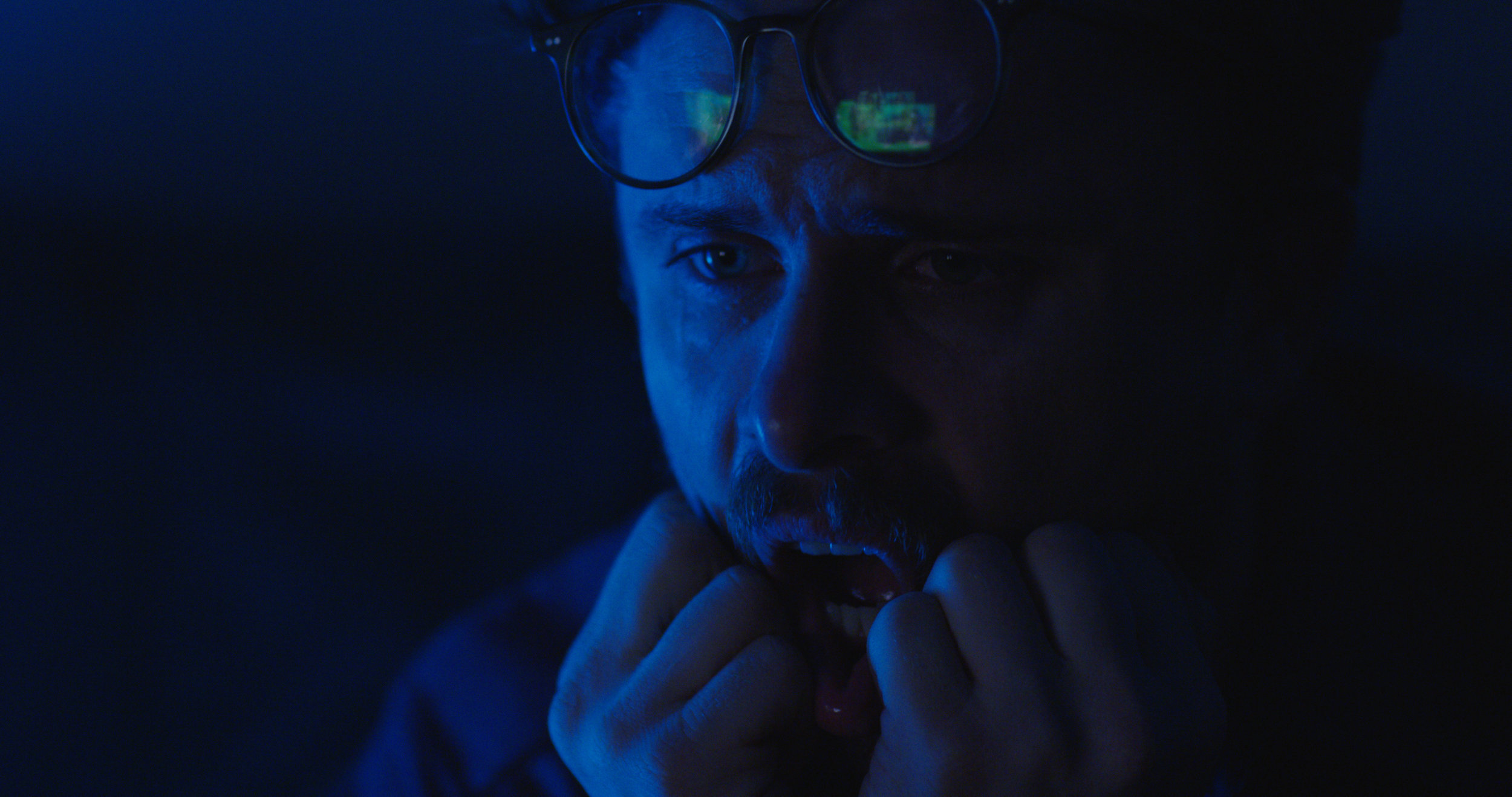 Max Baumgarten as Mike in White Guys Solve Sexism. Dir. Christopher Guerrero. Shot by Alex Parker.