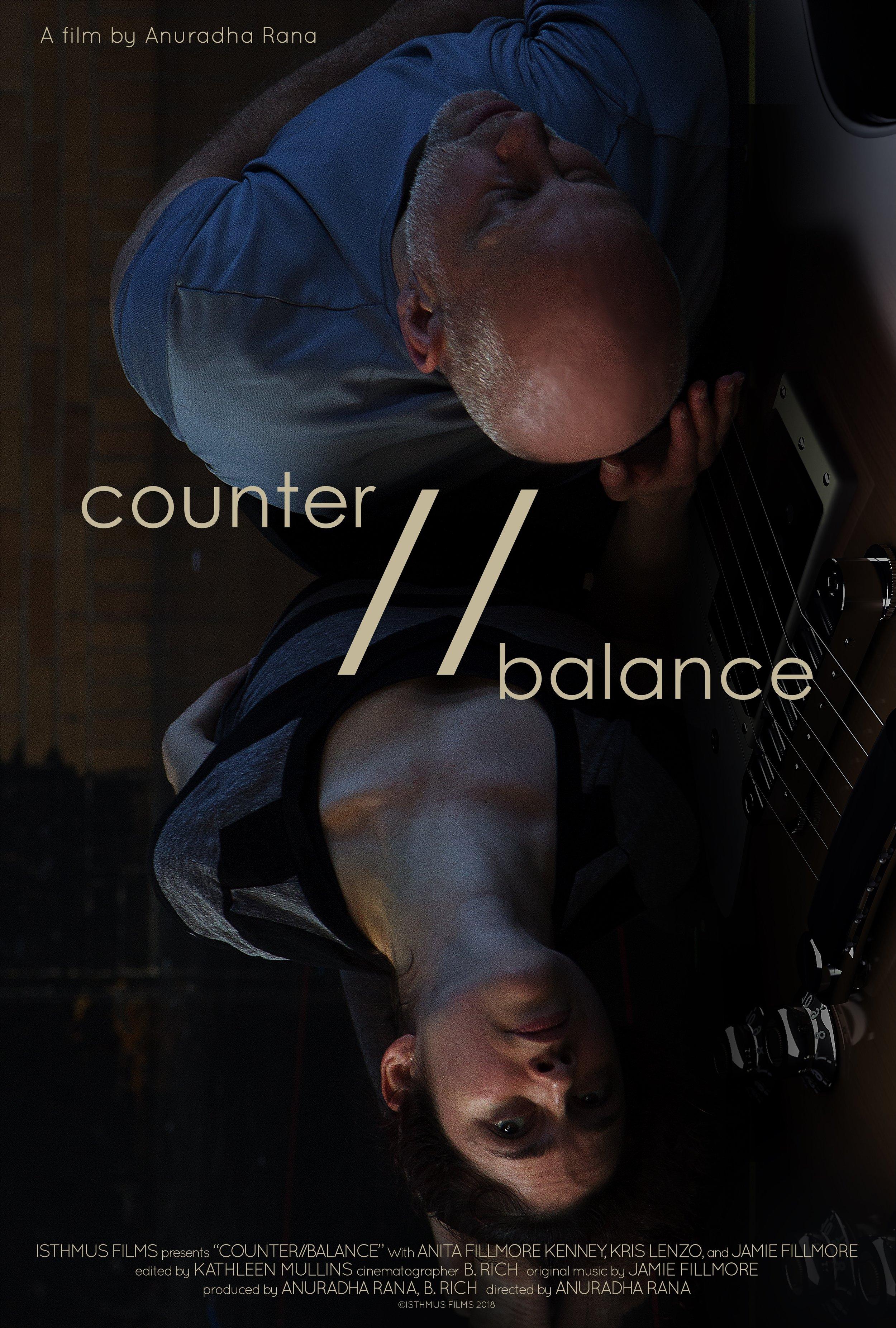 counter//balance poster