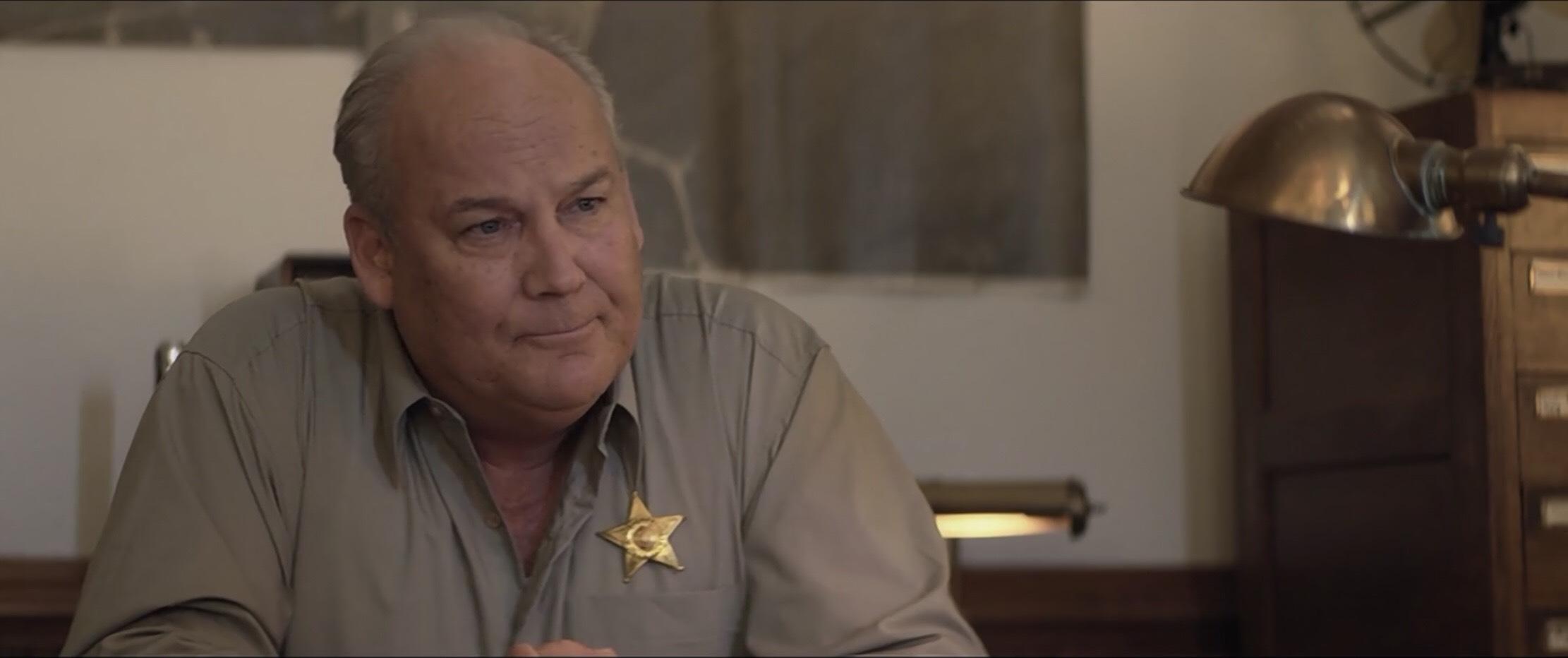 Brett Rice as Sheriff Hawkins