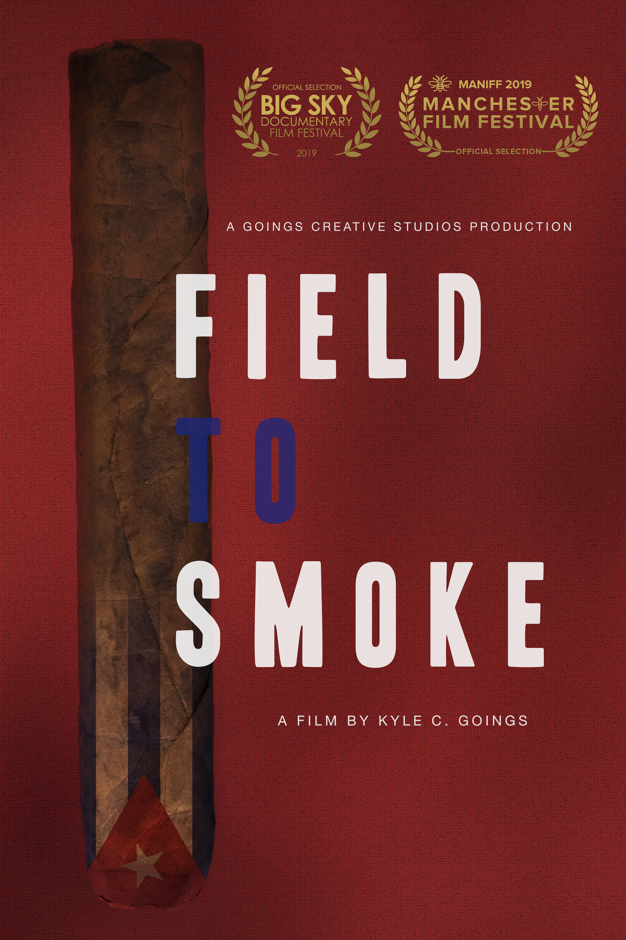 """The """"Field to Smoke"""" poster"""
