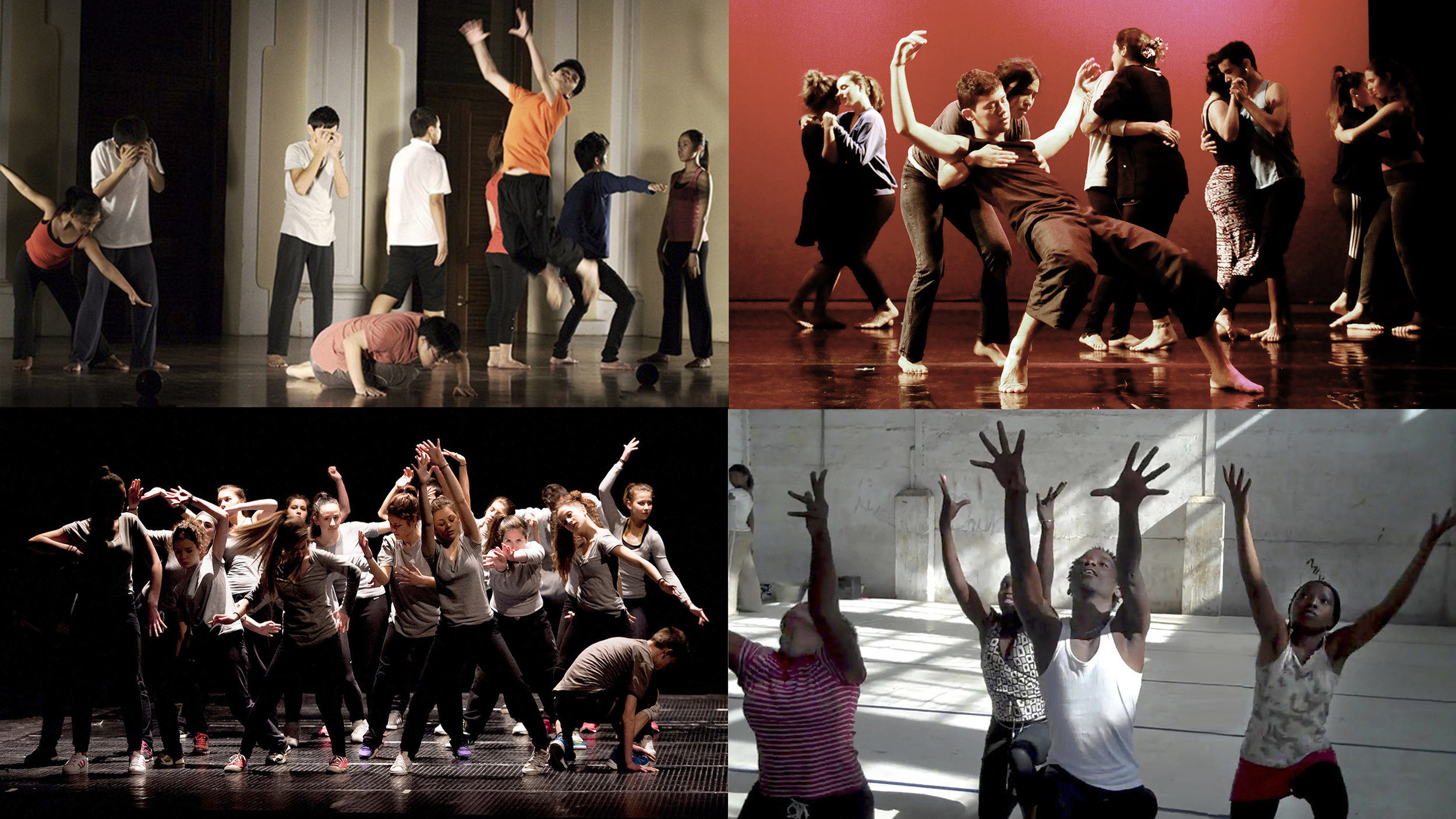Four Dancing to Connect performances