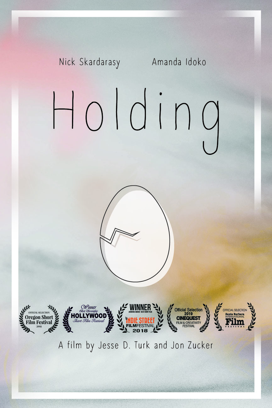 HOLDING Poster