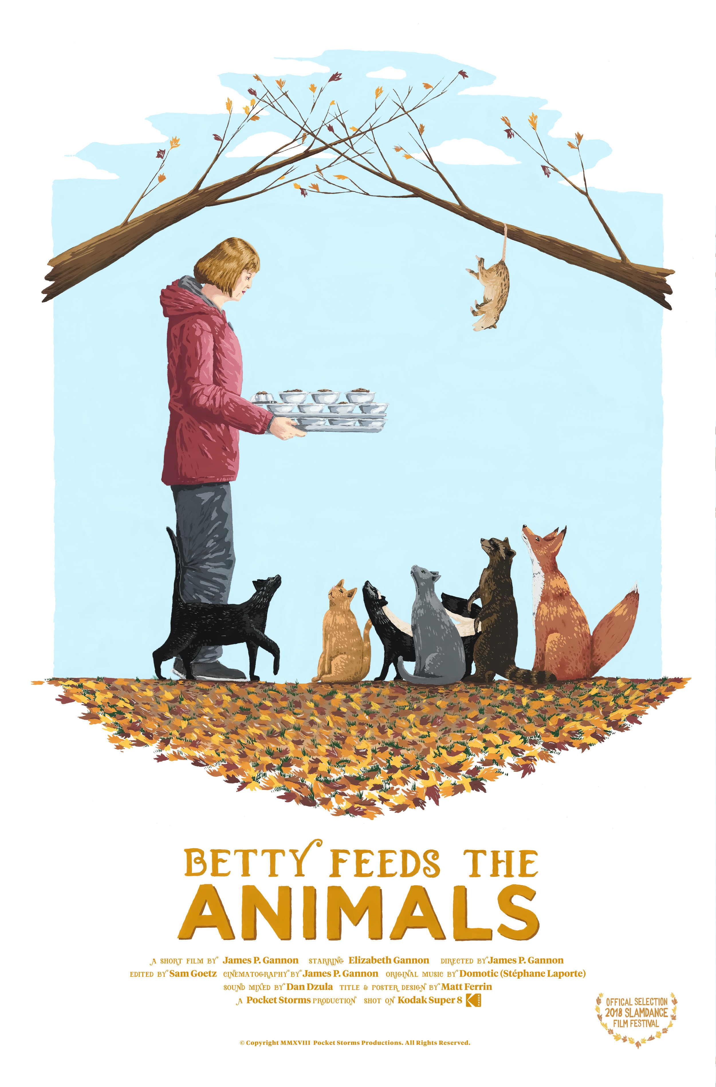 Betty Feeds the Animals poster
