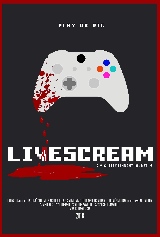 Livescream poster
